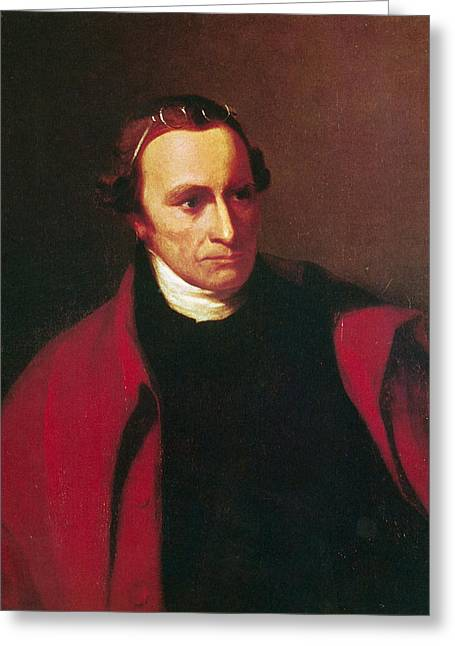 Sully Greeting Cards - Patrick Henry (1736-1799) Greeting Card by Granger