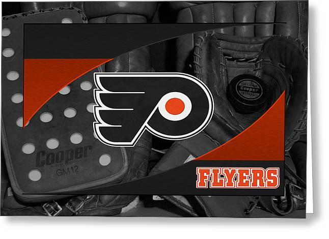 Barn Greeting Card Greeting Cards - Philadelphia Flyers Greeting Card by Joe Hamilton