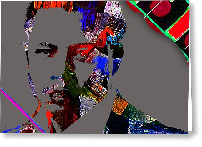 Actor Greeting Cards - Terrence Howard Collection Greeting Card by Marvin Blaine