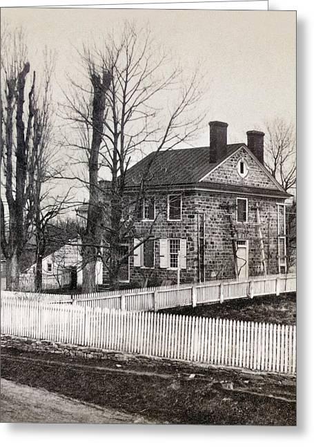 Pennsylvania Photographs Greeting Cards - Washington: Headquarters Greeting Card by Granger