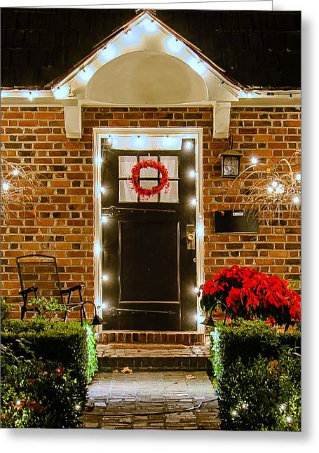 Christmas Doors Greeting Cards - 1107 Greeting Card by Mike Ronnebeck