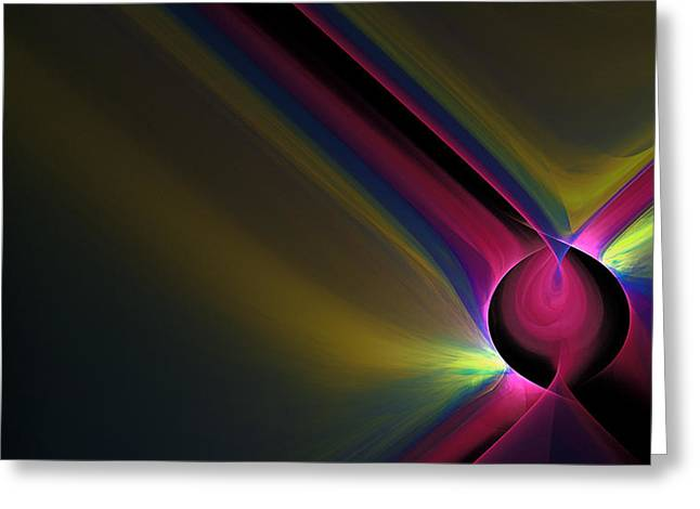 Generative Abstract Greeting Cards - 1109 Greeting Card by Lar Matre