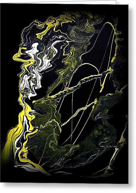 Abstract 21 Greeting Card by J D Owen