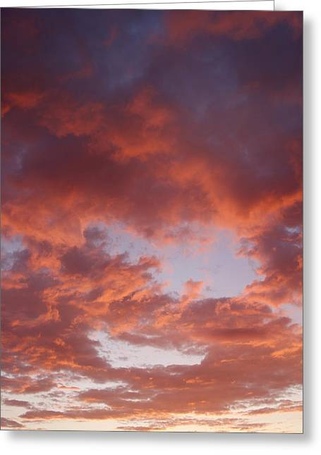 Warm Summer Greeting Cards - Bright sky  Greeting Card by Les Cunliffe