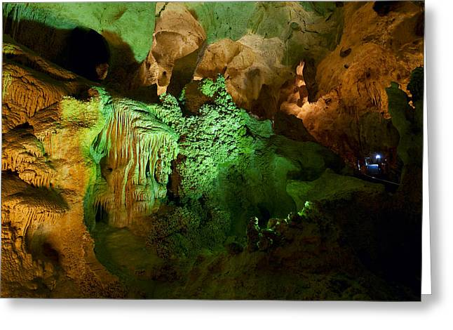 Subterranean Greeting Cards - Carlsbad Cavern Greeting Card by Alexey Stiop