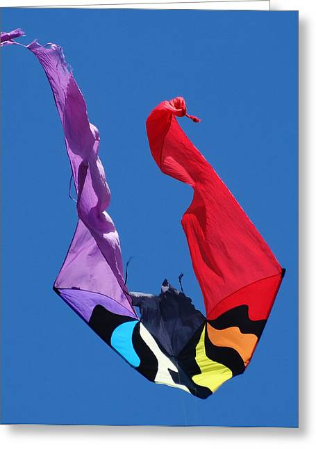 Kite Surfing Greeting Cards - Children are like kites. Greeting Card by Frederic Bonneau Photography
