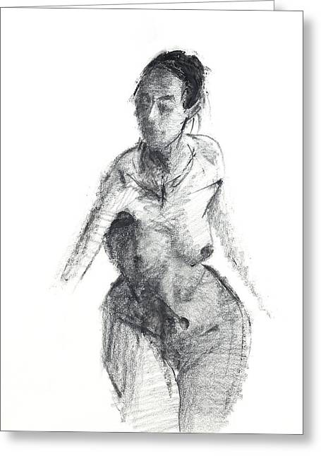 Mujer Greeting Cards - RCNpaintings.com Greeting Card by Chris N Rohrbach