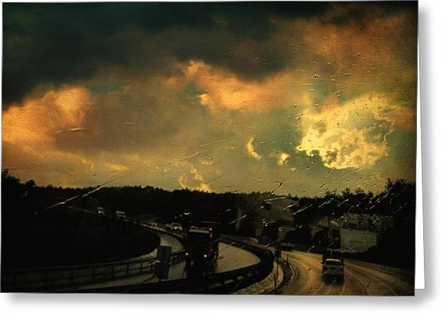 12 days of rain Greeting Card by Taylan Soyturk