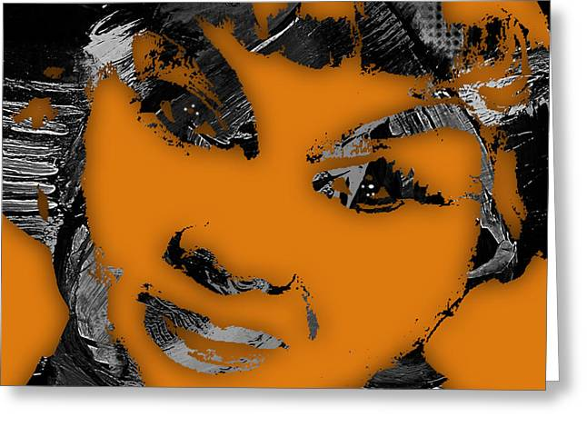 Etta James Collection Greeting Card by Marvin Blaine
