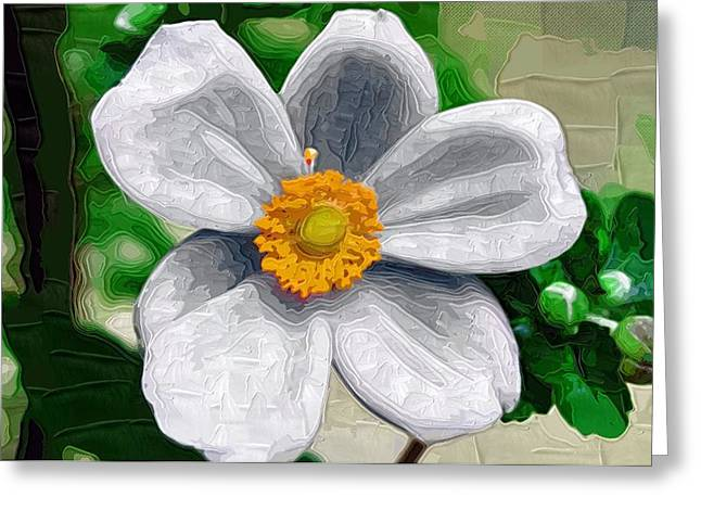 Close Up Paintings Greeting Cards - Flowers Posters Greeting Card by Victor Gladkiy