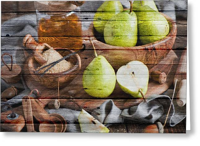 Fruit Greeting Card by Joe Hamilton