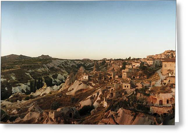 Anatolia Greeting Cards - High Angle View Of Buildings Greeting Card by Panoramic Images