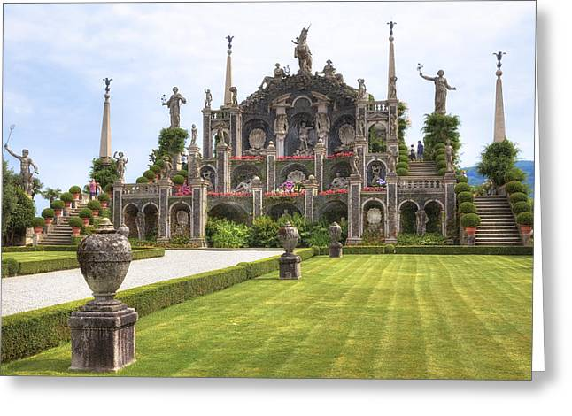 Piedmont Greeting Cards - Isola Bella Greeting Card by Joana Kruse