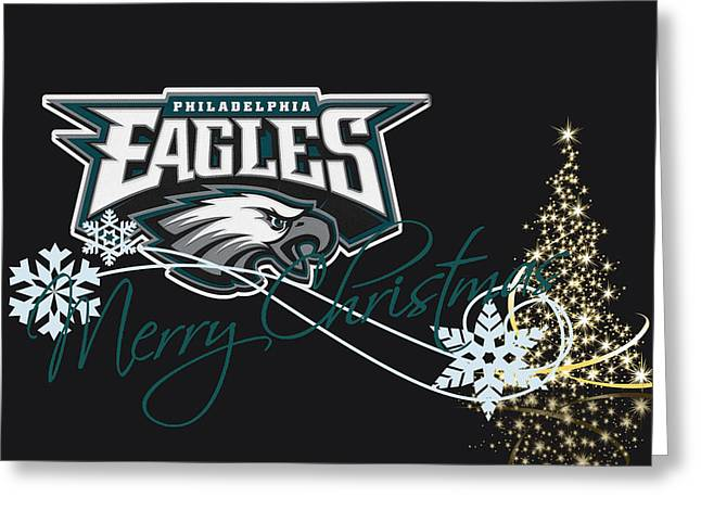 Eagles Greeting Cards - Philadelphia Eagles Greeting Card by Joe Hamilton