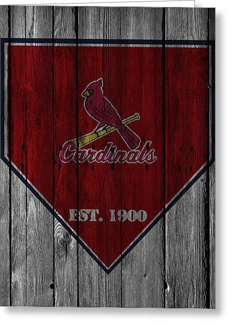 Barn Doors Photographs Greeting Cards - St Louis Cardinals Greeting Card by Joe Hamilton