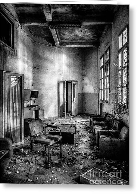 Recently Sold -  - Entrance Door Greeting Cards - This is the way step inside Greeting Card by Traven Milovich