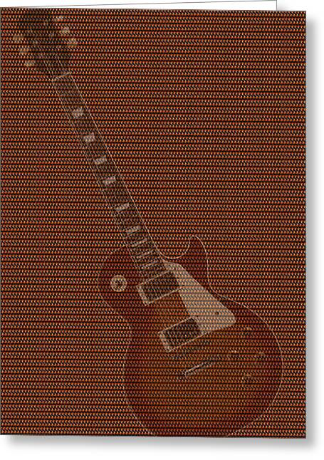 Rock Digital Art Greeting Cards - 12 Thousand Electric guitars 2 Greeting Card by Mike McGlothlen