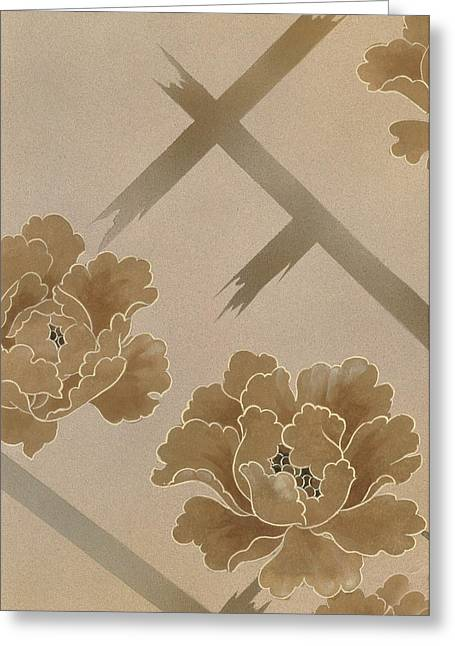 Trellis Photographs Greeting Cards - Untitled Greeting Card by Haruyo Morita