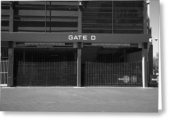 Historic Home Greeting Cards - Wrigley Field - Chicago Cubs 20 Greeting Card by Frank Romeo