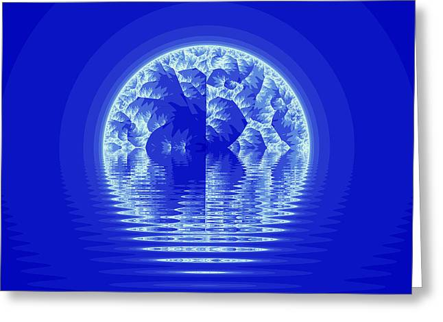 Hallucination Greeting Cards - Fractal Greeting Card by Odon Czintos