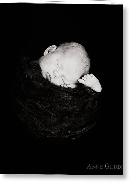 Cocoon Greeting Cards - Untitled Greeting Card by Anne Geddes