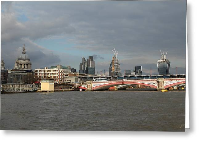 Mile 122 Greeting Cards - 20 Fenchurch Street Greeting Card by Ash Sharesomephotos