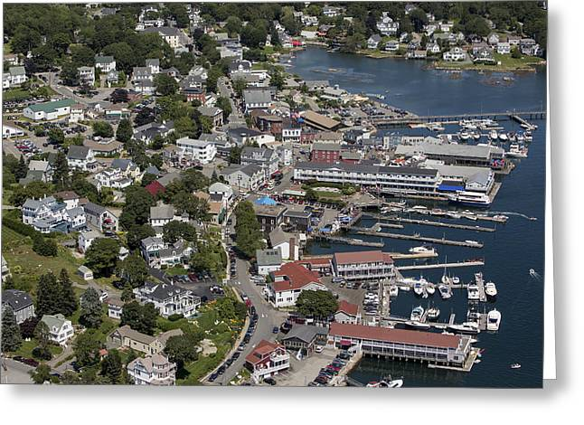 Boothbay Harbor Greeting Cards - Boothbay Harbor, Maine Greeting Card by Dave Cleaveland