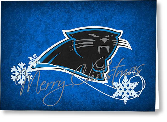 Panther Photographs Greeting Cards - Carolina Panthers Greeting Card by Joe Hamilton