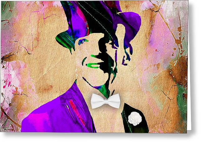 Stars Greeting Cards - Fred Astaire Collection Greeting Card by Marvin Blaine