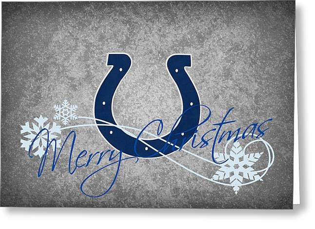 Colts Greeting Cards - Indianapolis Colts Greeting Card by Joe Hamilton