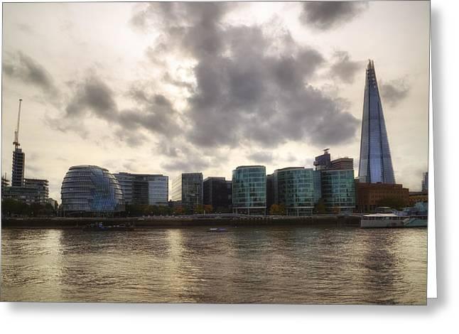 City Of London Greeting Cards - London Greeting Card by Joana Kruse