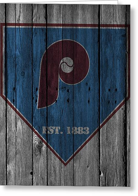 Philadelphia Phillies Greeting Card by Joe Hamilton