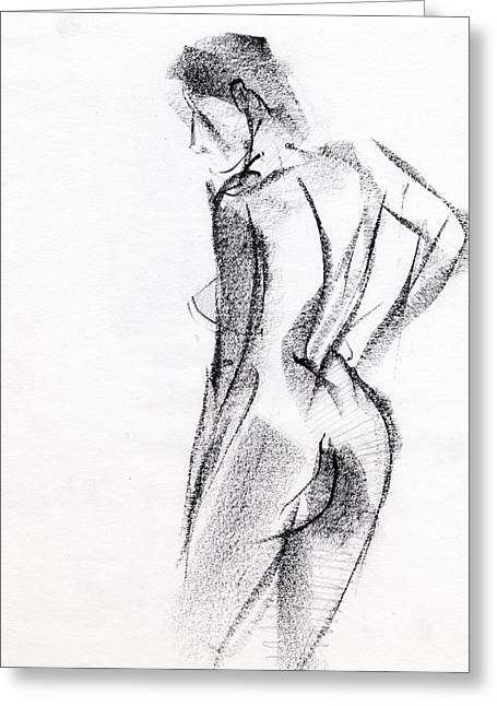 Black And White Drawings Greeting Cards - RCNpaintings.com Greeting Card by Chris N Rohrbach