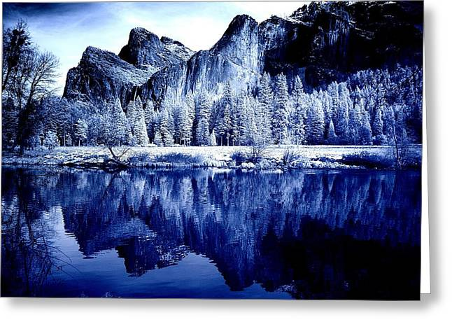 Recently Sold -  - Mountain Valley Greeting Cards - Scenic Yosemite Greeting Card by Mountain Dreams