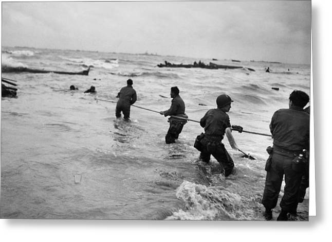 Lifeline Greeting Cards - World War Ii: D-day, 1944 Greeting Card by Granger