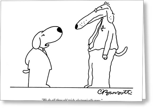 Untitled Greeting Card by Charles Barsotti