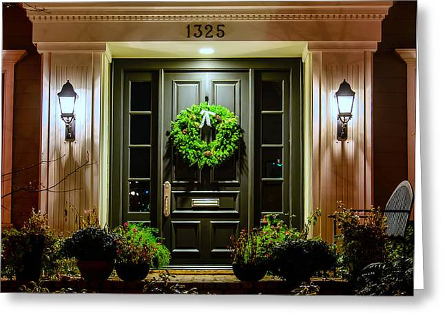 Christmas Doors Greeting Cards - 1325 Greeting Card by Mike Ronnebeck