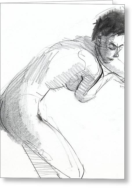 Graphite Greeting Cards - RCNpaintings.com Greeting Card by Chris N Rohrbach