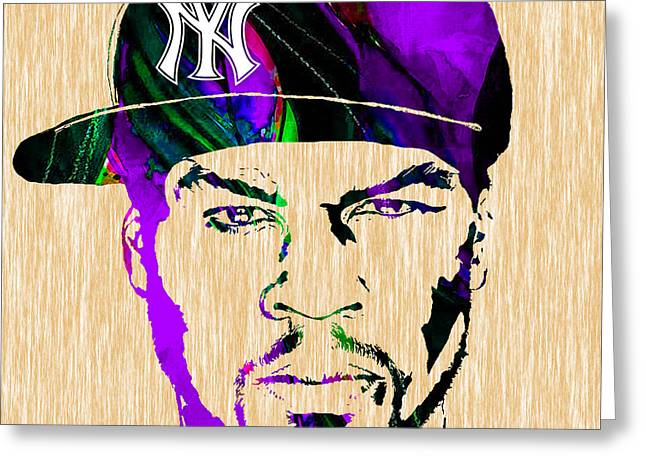 Rap Greeting Cards - 50 Cent Collection Greeting Card by Marvin Blaine