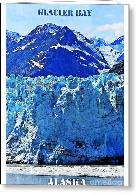 Glacier Bay Greeting Cards - Alaska Greeting Card by Sophie Vigneault