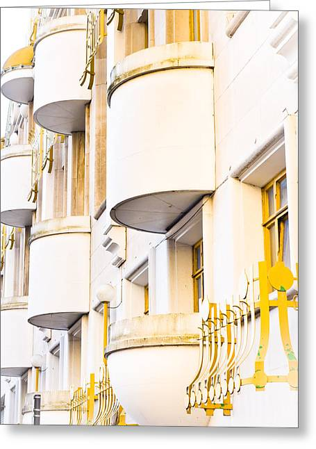 Development Greeting Cards - Balconies Greeting Card by Tom Gowanlock