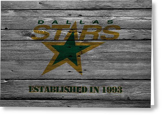 Star Barn Greeting Cards - Dallas Stars Greeting Card by Joe Hamilton