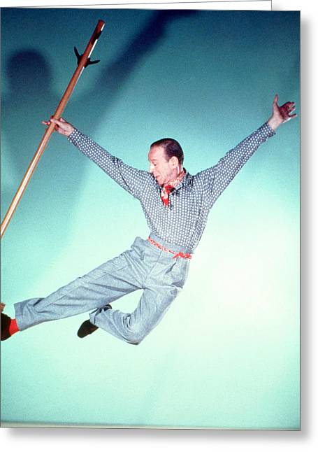 Fred Astaire Greeting Card by Silver Screen
