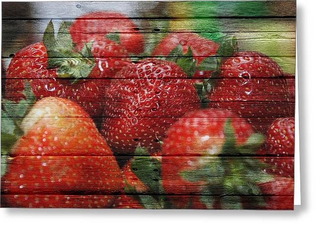Apple Crates Greeting Cards - Fruit Greeting Card by Joe Hamilton