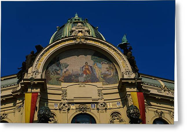Art Nouveau Photographs Greeting Cards - Low Angle View Of A Government Greeting Card by Panoramic Images