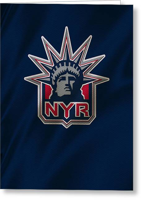 New York Rangers Greeting Card by Joe Hamilton
