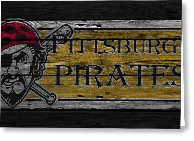 Pirates Photographs Greeting Cards - Pittsburgh Pirates Greeting Card by Joe Hamilton