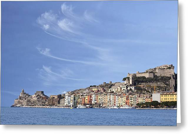 Porto Venere Greeting Card by Joana Kruse