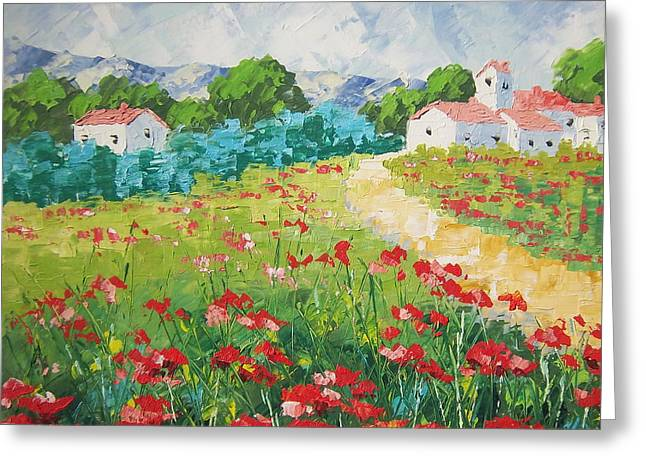 South Of France Greeting Cards - Provence Greeting Card by Frederic Payet