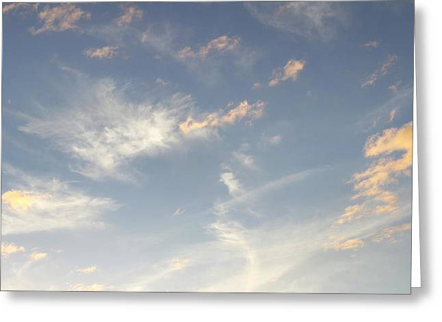 Warm Weather Greeting Cards - Sky Greeting Card by Les Cunliffe